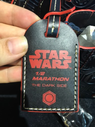 rundisney star wars half marathon 2018 dark side dooney and bourke