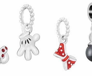 Mickey and Minnie Chamilia Charms