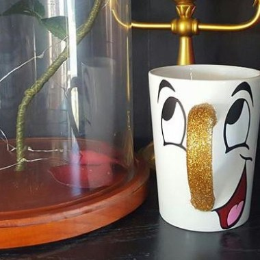 Beauty and the Beast Drinkware Collection