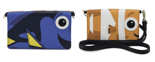 6c0d3eb07cf The Finding Nemo Dory Nemo Crossbody Wallet is a total favorite of mine!  This is a double sided bag that features Dory on one side