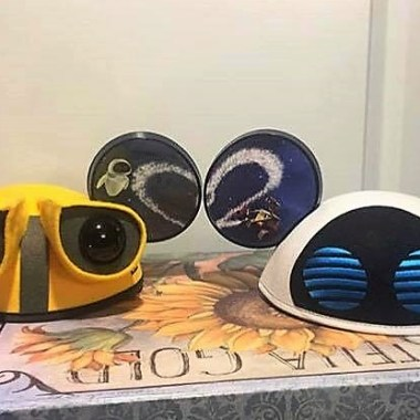Wall-E and Eve Mickey Ears