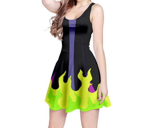 Embrace Your Inner Villain In This Maleficent Inspired Dress