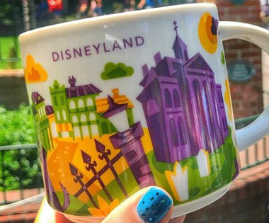Disneyland Haunted Mansion Starbucks Mug