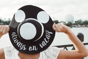 Mickey Inspired Straw Hats
