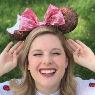 Mickey Ice Cream Bar Minnie Ears