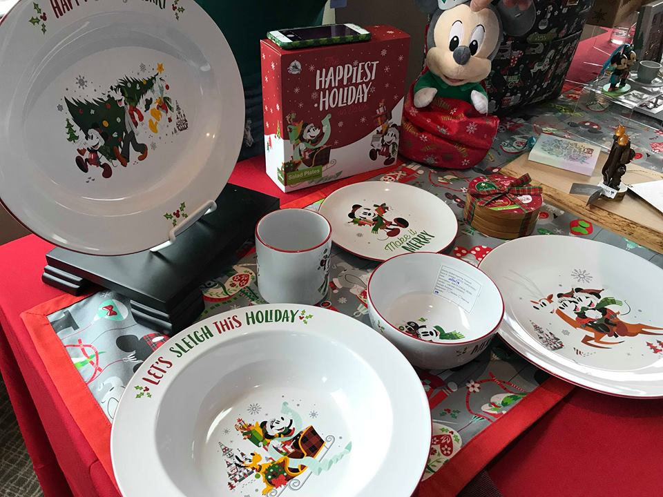 Beautiful homeware designs including dishes cups a table runner and even coasters will be part of the Nordic Winter collection as well. & A Magical First Look At the Disney Parks Christmas Merchandise