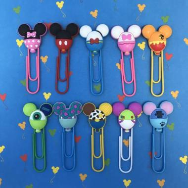Disney Character Balloon Planner Clips