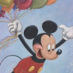 Mickey's 90th Birthday Portrait