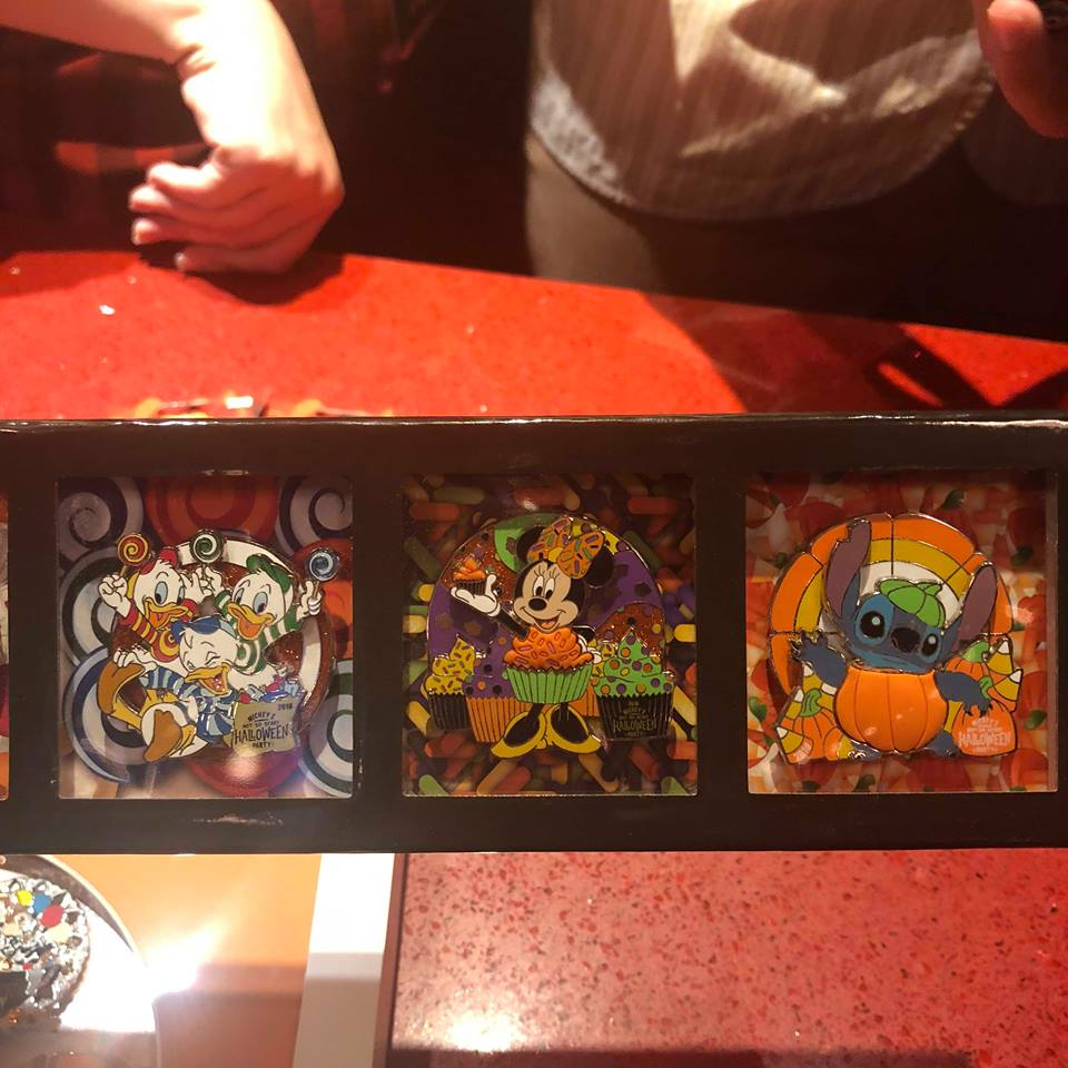 Mickey's Not So Scary Halloween Party Pins