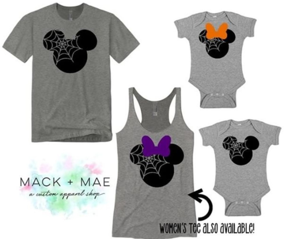 win a set of disney halloween shirts for the whole family