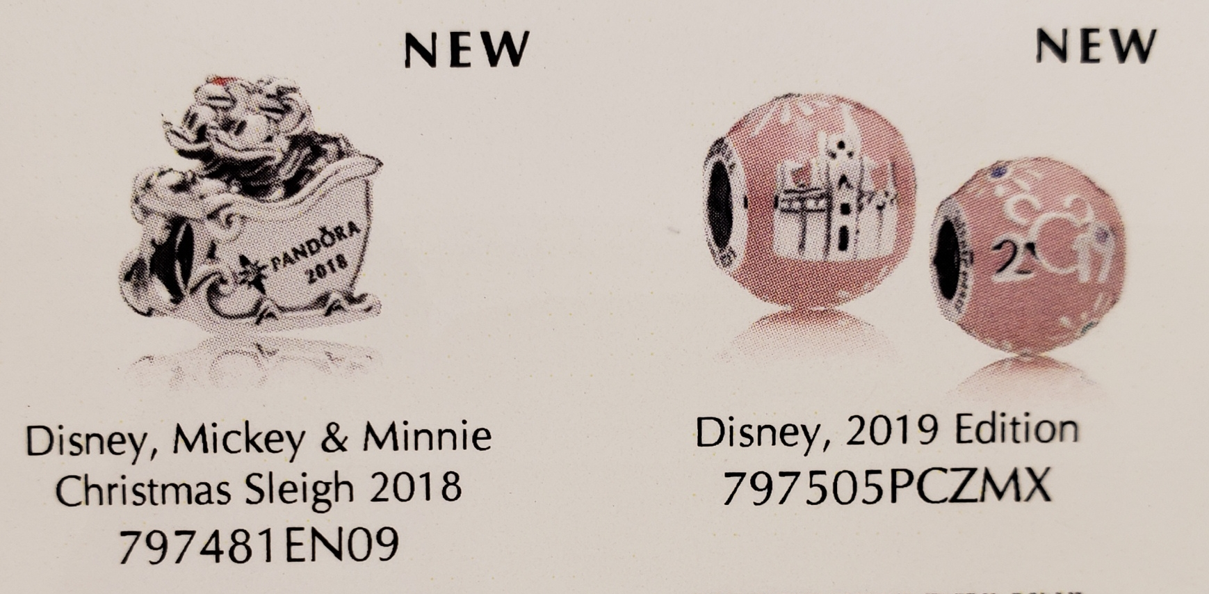 disney park exclusive pandora charms