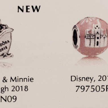 Park Exclusive Disney Pandora Charms