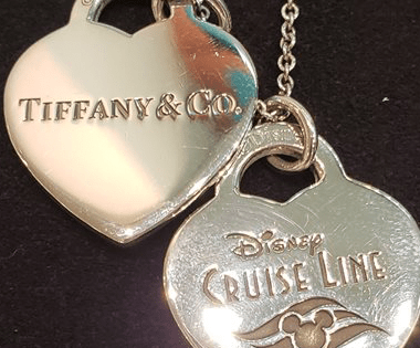 Disney Cruise Line Tiffany Necklace