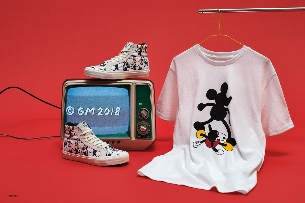 f39bde9942 Vault By Vans Mickey Mouse 90th Anniversary Collections