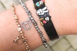 Mickey and Minnie Wrap Bracelets