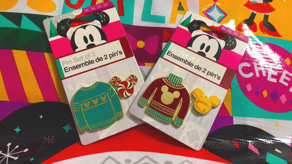 Holiday Sweater Disney Pins