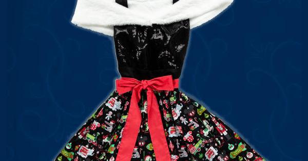 2018 Disney Holiday Dress