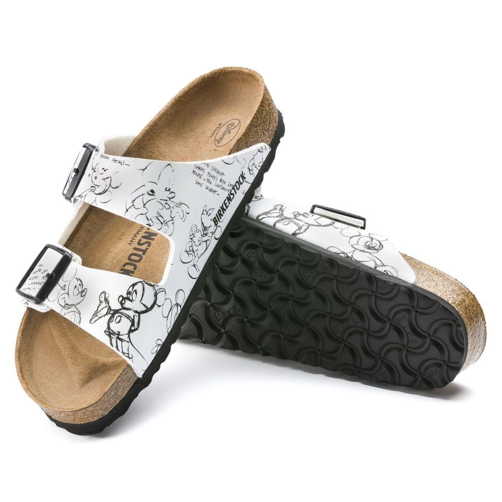 9b676e11cd3d Mickey Sketch Birkenstock Shoes Feature Classic Designs