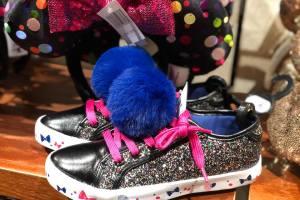 Minnie Mouse Pom-Pom Shoes