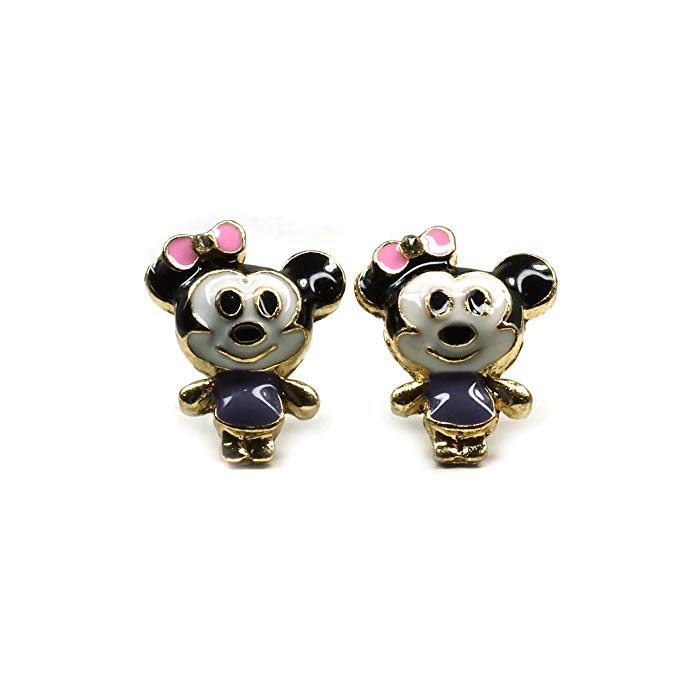 8e138bd212a00 Disney Discovery- Teri's Boutique Minnie Mouse Studs