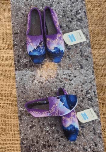 abea2b37462da Grab Your Own Hand Painted Disney Inspired Toms At The Festival Of ...