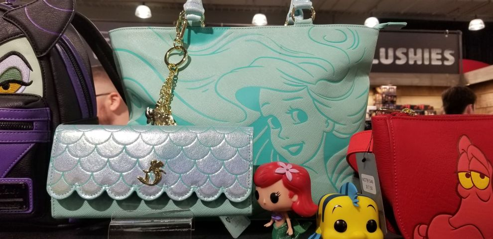 Little Mermaid Inspired Loungefly Collection