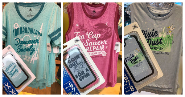 Disney Parks Matching Tees and Phone Cases