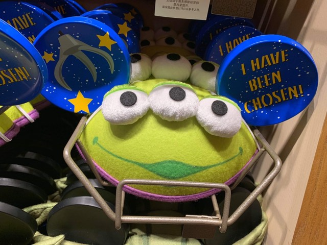 Green Alien Mickey Ears