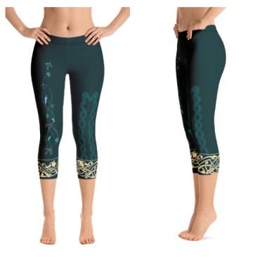 Merida Inspired Leggings