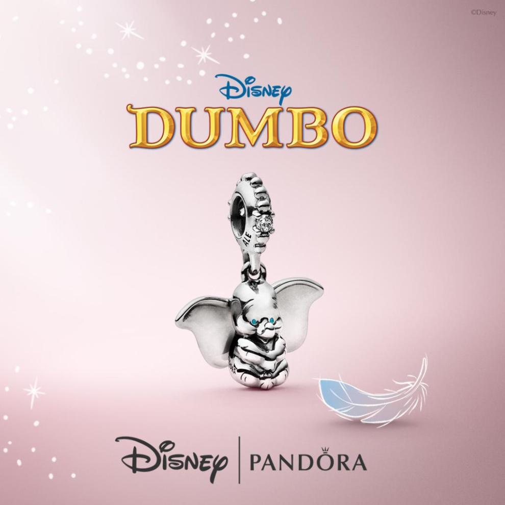 Roll Up, Roll Up Welcome The New Dumbo Pandora Charms