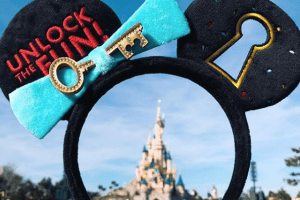 Disneyland Paris Mickey Key Ears