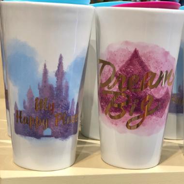 Disney Water Color Travel Mugs