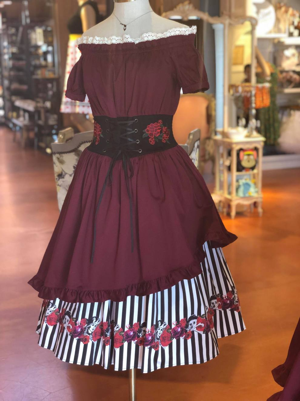 Pirates Of The Caribbean Dress Inspired By Redd Now At The Dress Shop