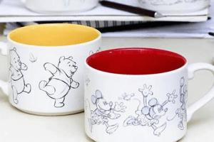 Disney Animation Sketch Mugs