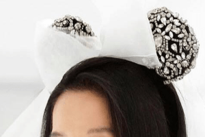 Vera Wang Bridal Minnie Ears