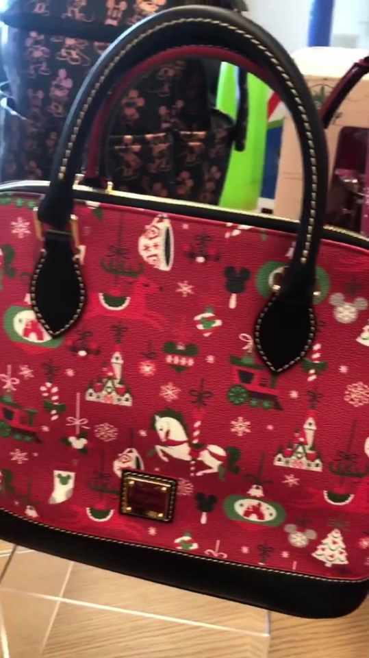 Christmas Floating Tea Cups.Christmas Disney Dooney Bourke Collection Revealed