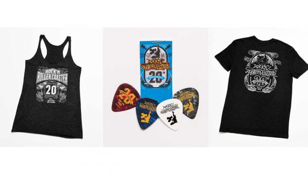 Rock 'N' Roller Coaster 20th Anniversary Merchandise
