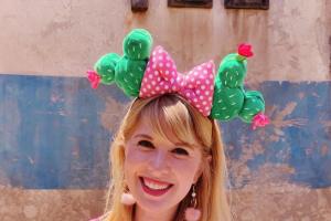 Cactus Minnie Mouse Ears
