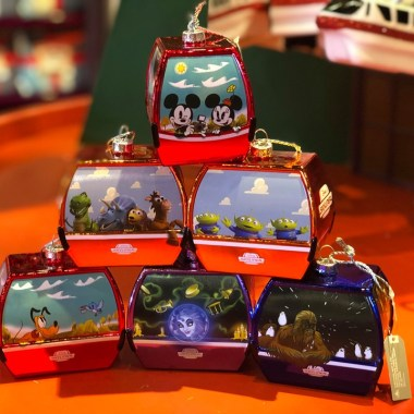 Disney Skyliner Ornaments