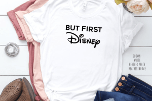 But First Disney Tee 1