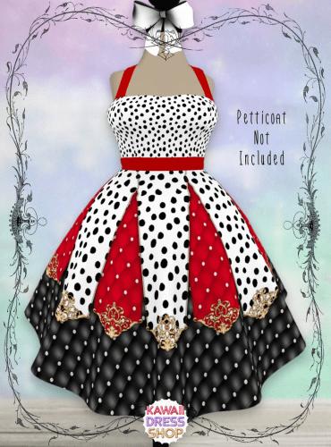 Cruella de Vil Dapper Day Dress