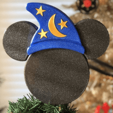 Sorcerer Mickey Tree Topper