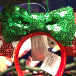 Peppermint Minnie Headband Ornament