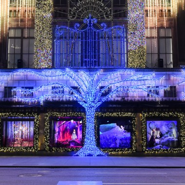 Frozen 2 Holiday Windows