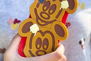 Mickey Waffle Phone Case
