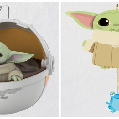 Baby Yoda Hallmark Ornaments