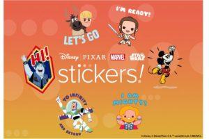Digital Disney Stickers
