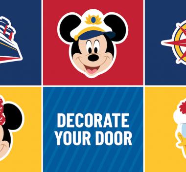 Disney Door Decorating