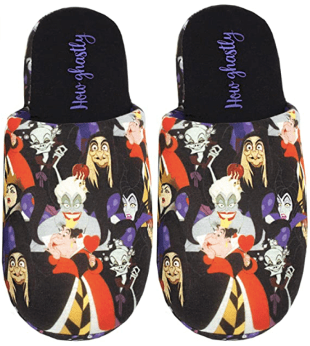 Disney Villains Slippers