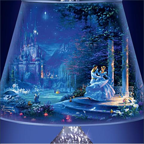 Thomas Kinkade Cinderella Lamp